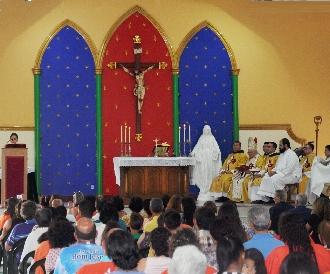 Missa de inauguração da nova Casa dos Arautos em Vitória