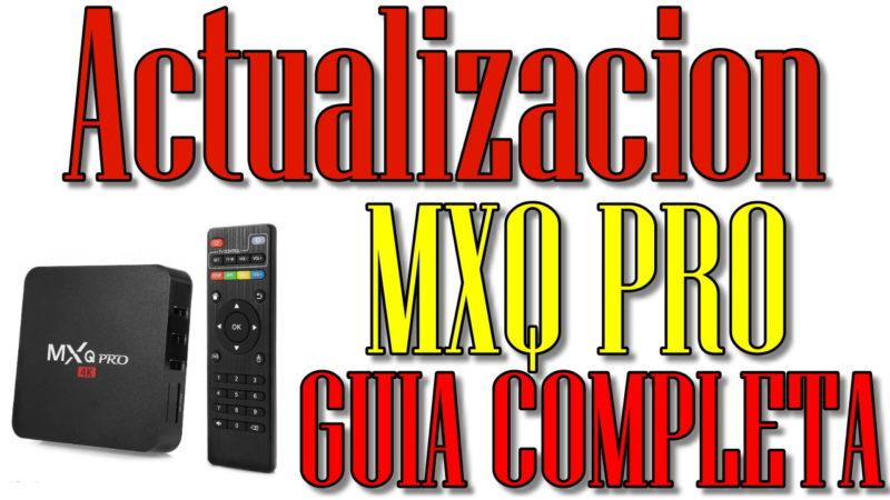 mxq-pro, configurazion