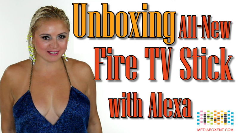 Unboxing All-New Fire TV Stick with Alexa Voice Remote