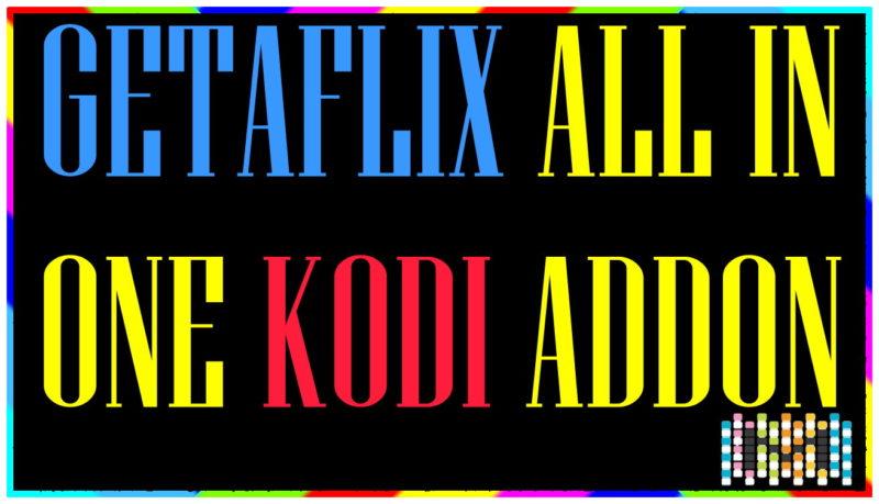 💡GETAFLIX KODI ADDON: 4K MOVIES - IPTV - Kids Movies (XBMC)