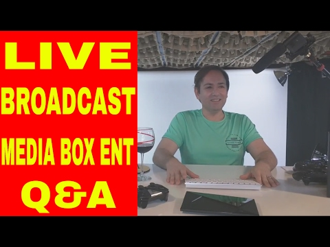 💫LIVE BROADCAST! MEDIA BOX ENT Q&A #01