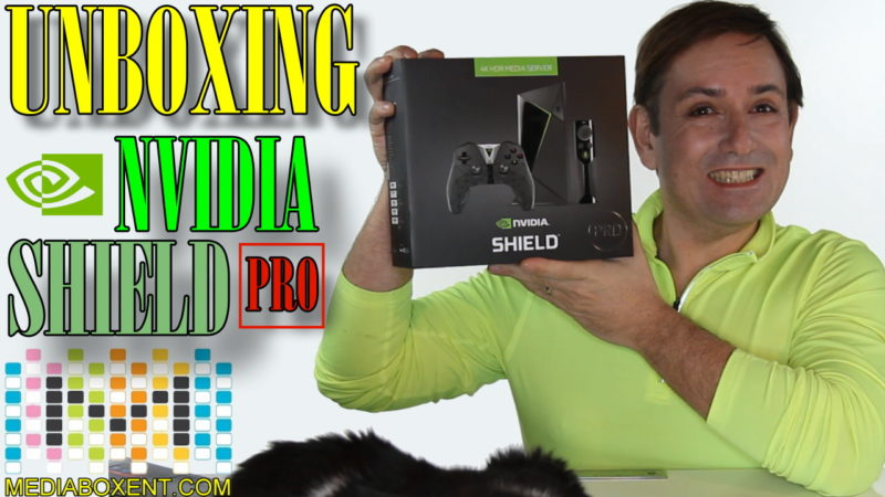 UNBOXING THE NEW 2017 NVIDIA SHIELD PRO SERVER