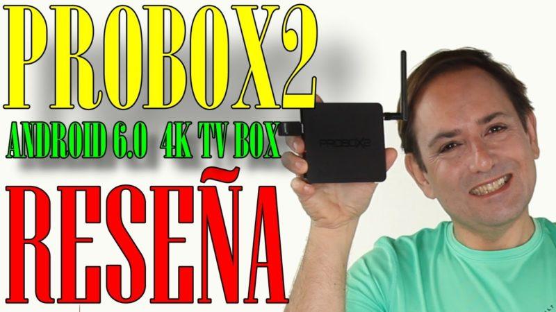 Mirada Profunda al Probox2 Air Android TV Box /con Control Remoto