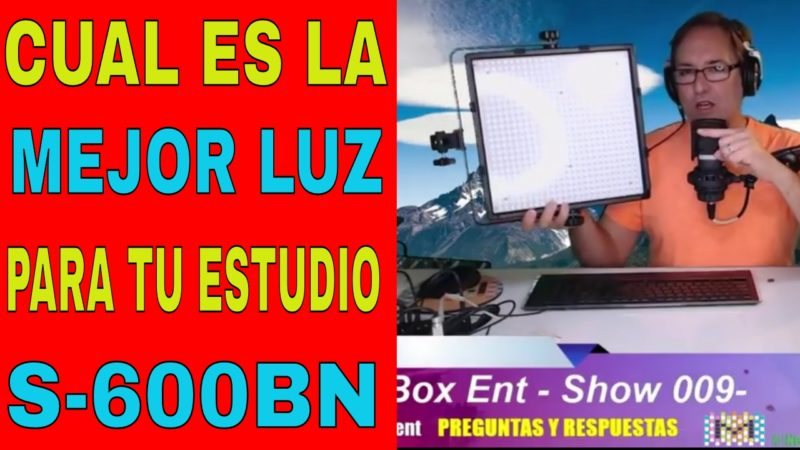 StudioPRO S-600BN Luz para video o Fotografia