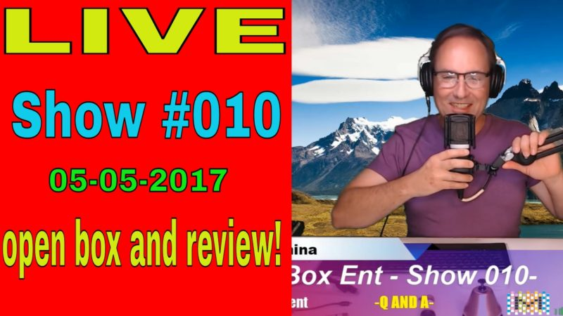 Show #010 - KODI -Q & A- Android Tv Box Open box and review