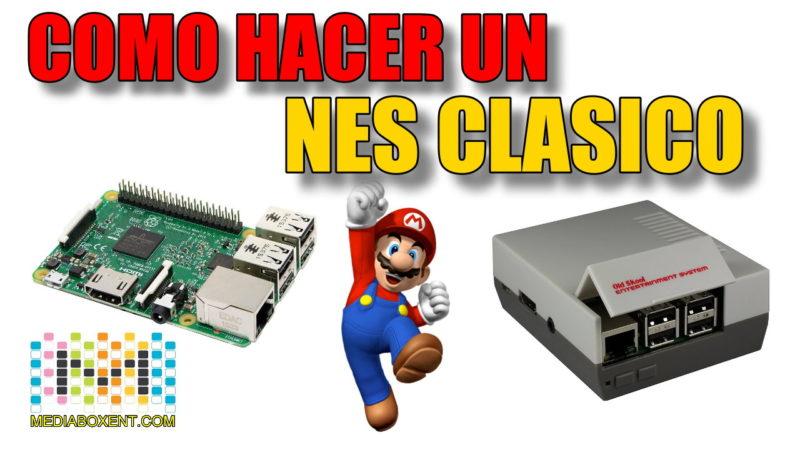 Cómo hacer un clásico NES con una Raspberry Pi
