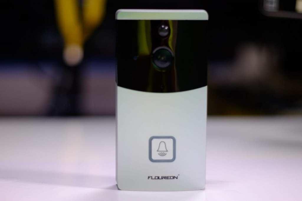 FLOUREON Wi-Fi Video Doorbell Camera 720P HD