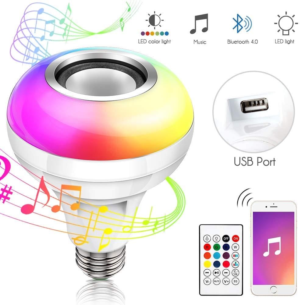 Bluethooth Light Bold With Speaker