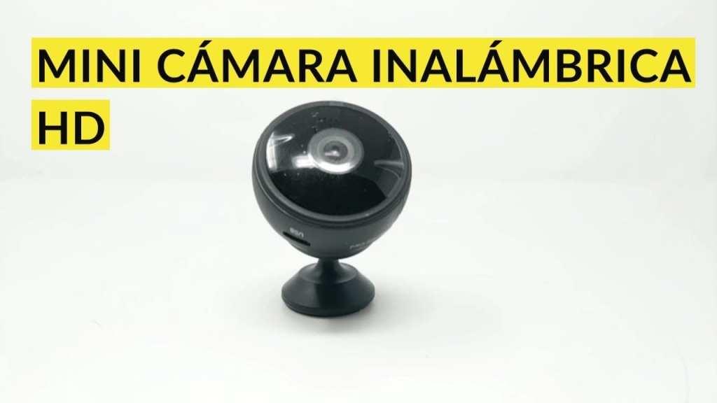 Mini cámara espía Cámara oculta inalámbrica WiFI