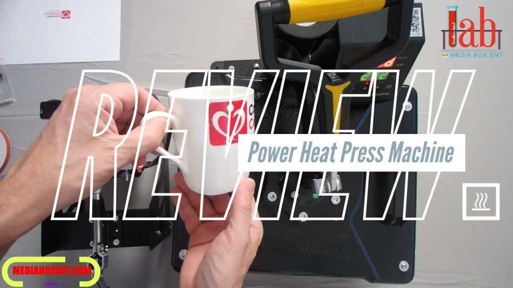 "Testing Power Heat Press Machine 12"" X 15"" Professional Swing Away Heat Transfer"