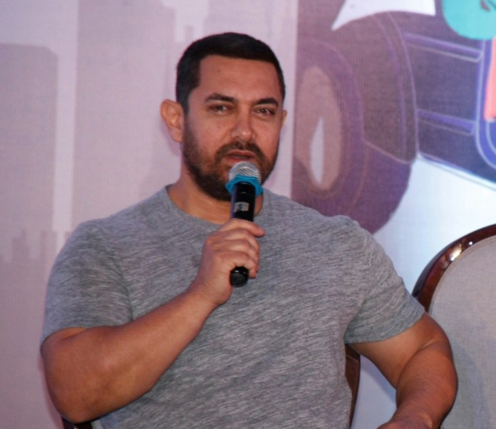Actor Aamir Khan says he fears not trying