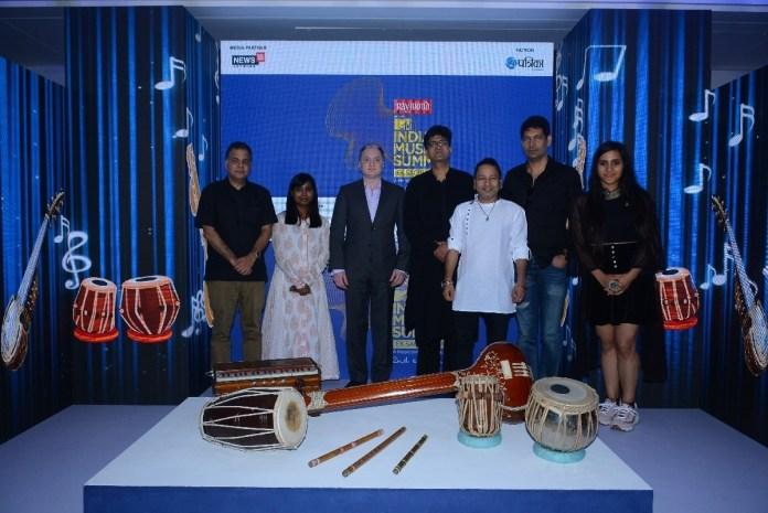 image-Musiconcepts-MTV-India-Music-=Summit-2018-Viacom-18-COO-Raj-Nayak-Singer-Shilpa-Rao-Gautam-Hari-Singhania-Prasoon-Joshi-Kailash-Kher-Jasbir-Jassi-Nikita-Gandhi