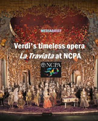 Guiseppe Verdi's tragic opera La Traviata screening at NCPA Mumbai on 22 Jan 2019 Mediabrief