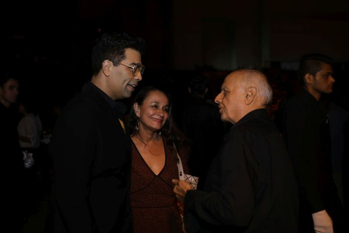 Image-Karan Johar, Mahesh Bhatt, Soni Razdan at the Hotstar Specials launch bash-MediaBrief