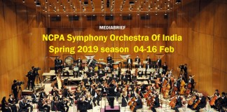 NCPA Symphony Orchestra Of India Spring 2019 Season Mediabrief