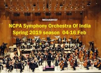 NCPA Symphony Orchestra Of India Spring 2019 Season Mediabrief