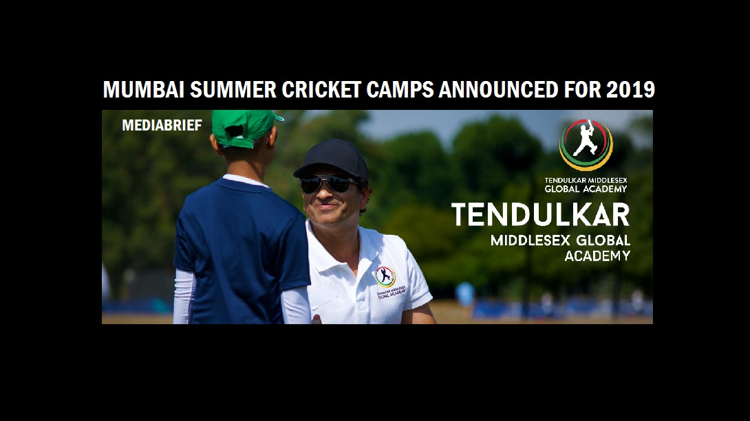 Tendulkar MGA's Summer Cricket Camps in Mumbai in May