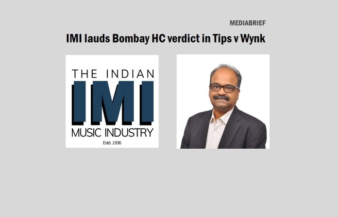 image-IMI - Blaise Fernandes - lauds Bombay HC Verdict in Tips v Wynk Music