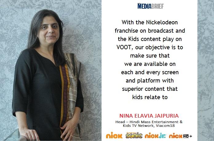Nina Elavia Jaipuria: Nick provides kids superior content