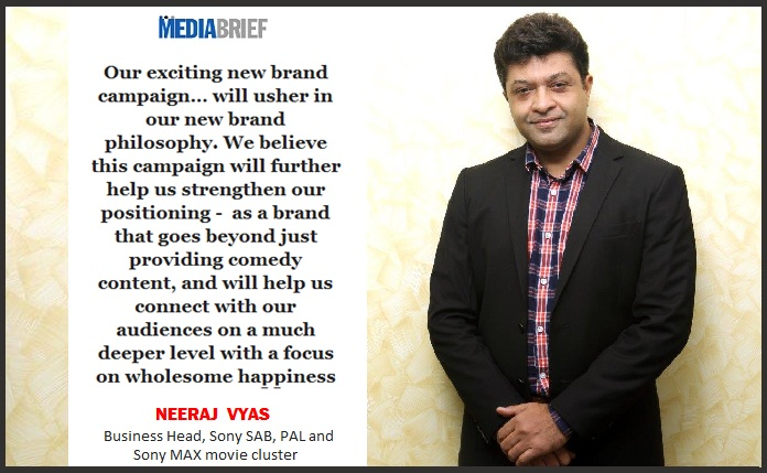 IMAGE-INPOST-1Neeraj Vyas - Business Head - Sony SAB - PAL and Sony MAX movie cluster - on Sony SAB rebranding MediaBrief