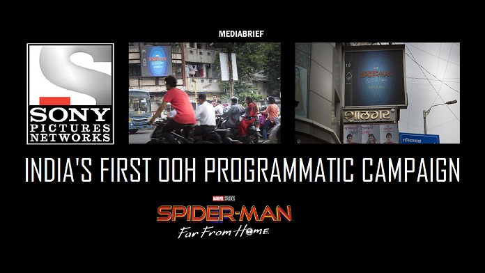 Image inpost India's first OOH Programmatic campaign is for SpiderMan-FFH-from Dentsu Webchutney and Sony Pictures Entertainment-mediabrief