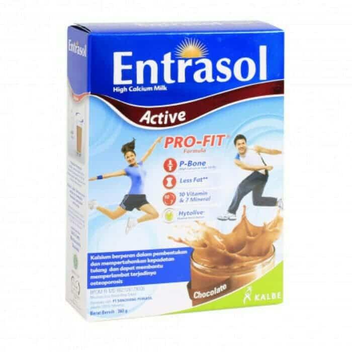 Susu peninggi badan Entrasol Active