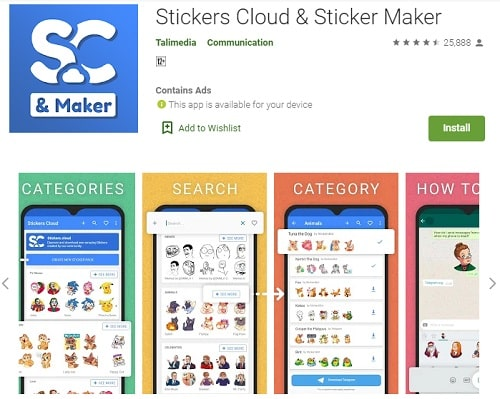 Stickers Cloud