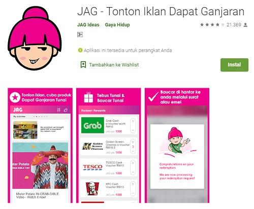 Aplikasi JAG Reward