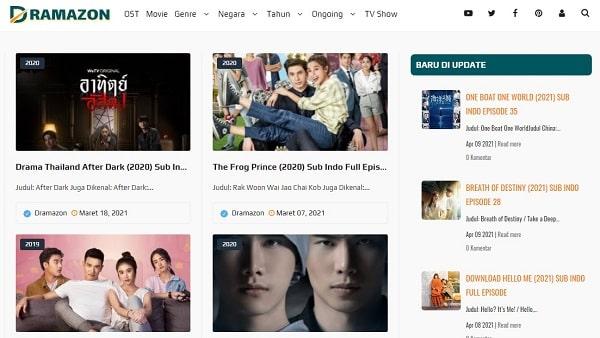 Situs nonton drama Thailand