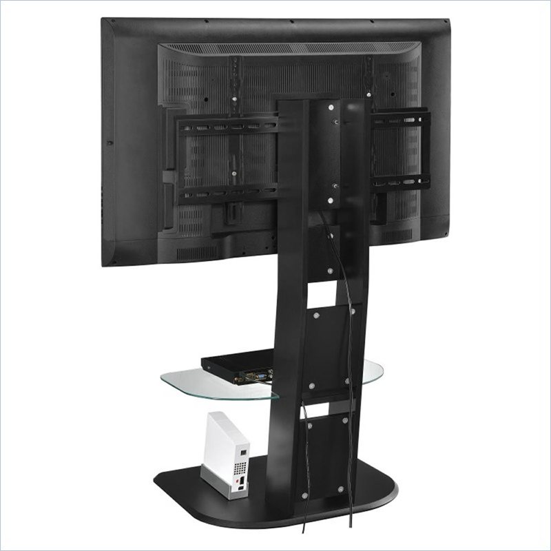 TV Stand With Mount In Black 1705096