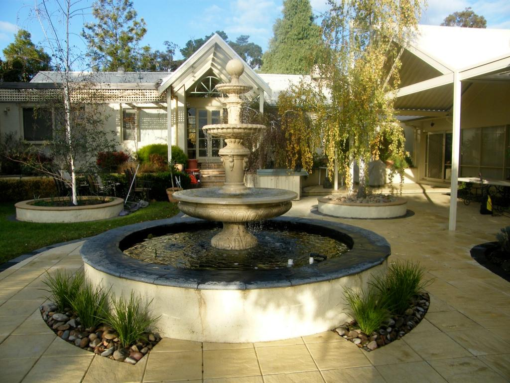 Water Features Inspiration - Sacred Garden - Australia ... on Water Feature Ideas For Patio id=74251