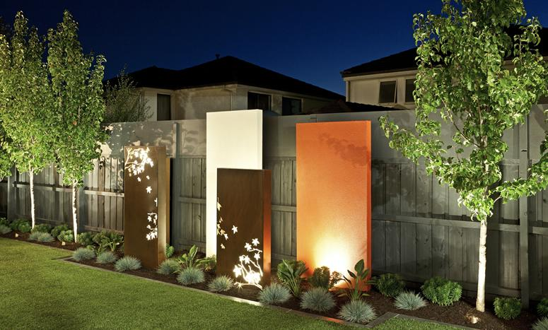 Create a feature wall in your garden with a splash of ... on Backyard Feature Walls  id=14255