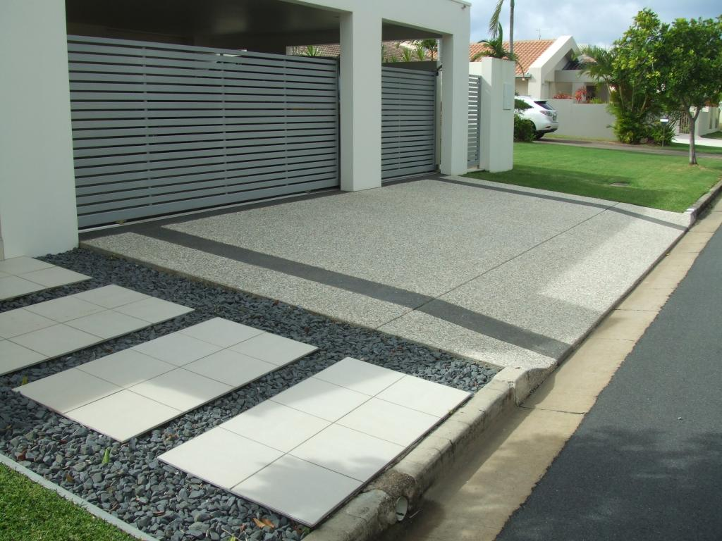 Cost New Much Concrete How Driveway Does