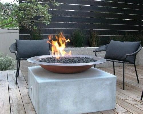Yard Art Patio And Fireplace