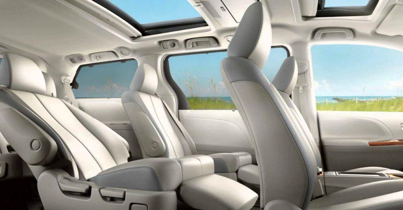 2015 Toyota Sienna Inside