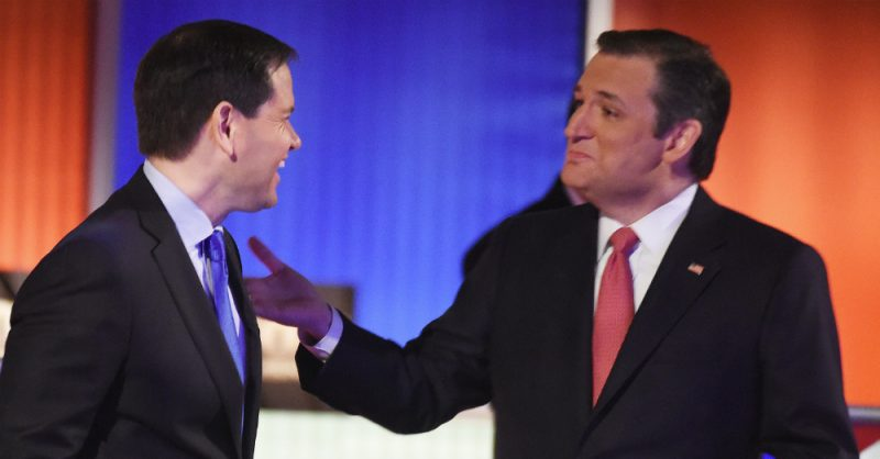 Marco Rubio Ted Cruz Iowa