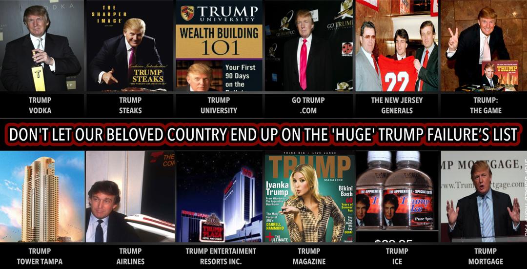 Trump Failures