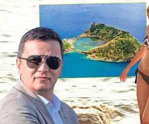 Grindeanu și consiliera sa Miss Buzău figurează în sistemul ANCOM că au fost în Insulele Azore, pe bani publici, la o Plenară de comunicații poștale!