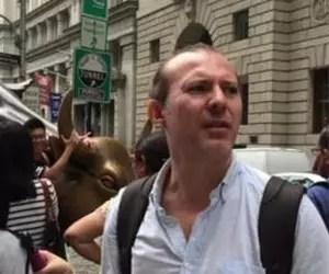 """Răspunsul lui Cîțu după scandalul privind condamnarea sa în SUA: Fotografii din New York, alături de mesajul """"Can't stop me now!"""""""