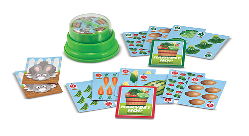 Harvest Hop Press & Spin Family Game
