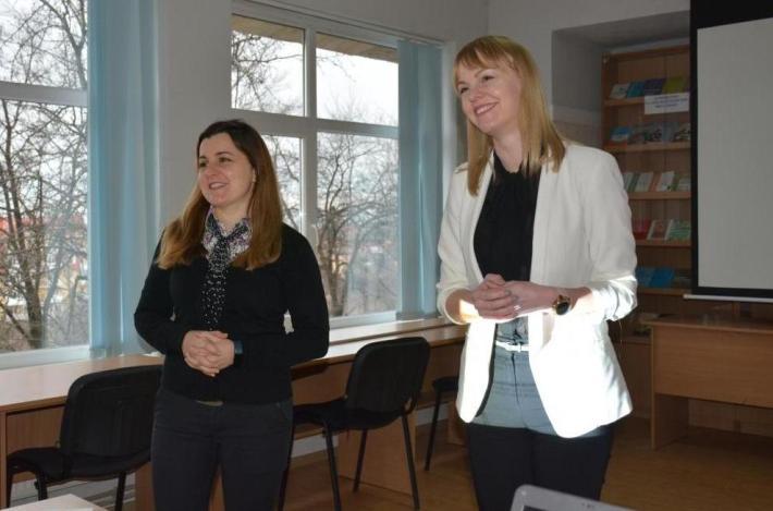Ганна Мелеганич та Крістіна Товт