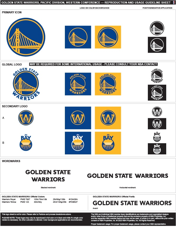golden state warriors colors hex rgb and cmyk  team