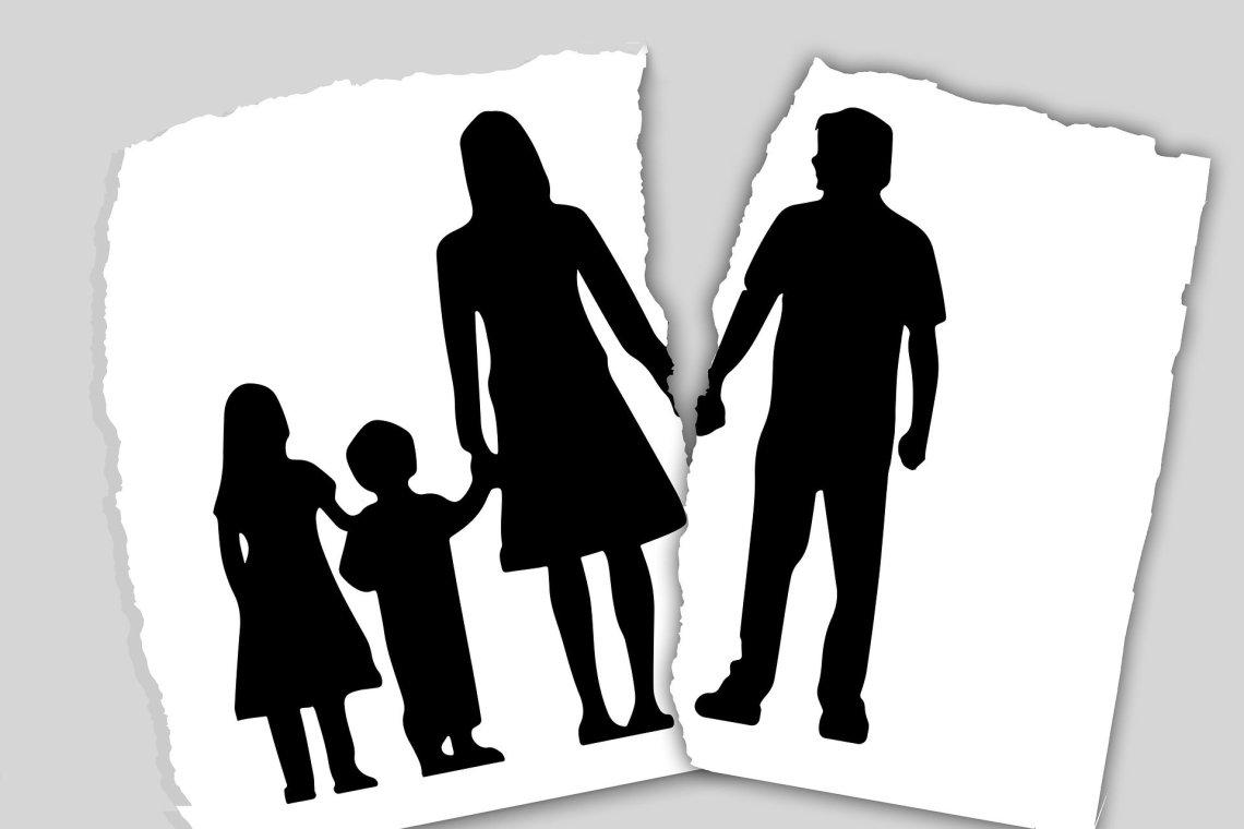 rozdelenie rodiny