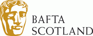 BAFTA Scotland logo black and gold