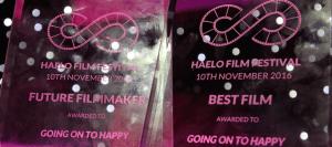 Going on to Happy Haelo Film Festival awards