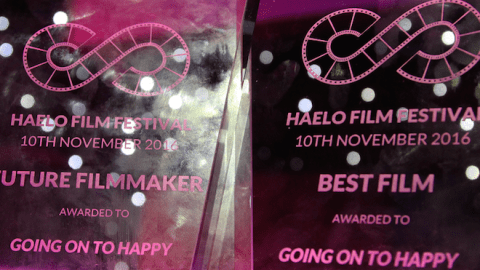 Going on to Happy Haelo Film Festival awards