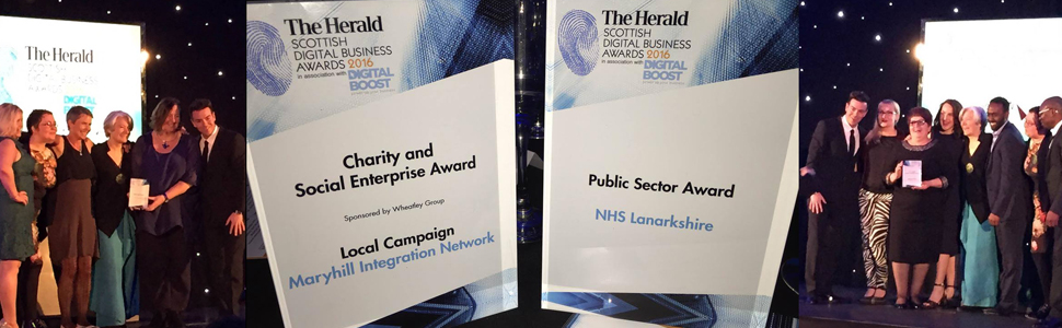 Two of our films win at The Herald Scottish Digital Business Awards