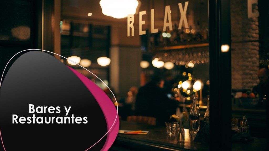 ahorrar luz seguros bar restaurante
