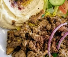 Lunch: Chicken Shawarma Plate at #PitaSpot, Torrance. Excellent! 😋 We ❤️ design and marketing for restaurants: info@mediacookery.com