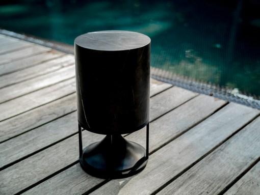 Cylinder Lautsprecher zur 360 Grad Gartenbeschallung